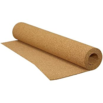 QEP 200 sq  ft  48 in  x 50 ft  x 1/8 in  Cork Underlayment Roll