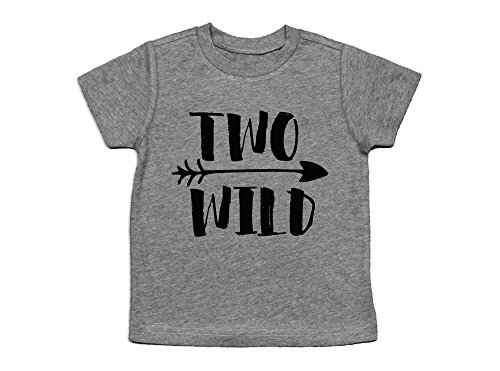Oliver and Olivia Apparel Second Birthday Party Shirt Two Wild Shirt Wild 2nd Birthday (2 (Wild Child Clothing)