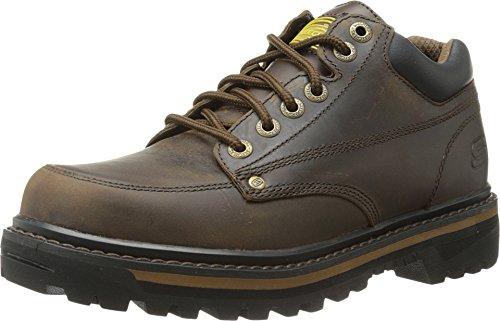- Skechers USA Men's Mariner Utility Boot,Dark Brown,11.5 EE - Wide
