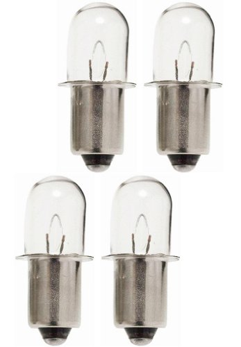 Ryobi 780287001 Light Bulbs for 18V Flashlight 4PK - 18 Volt Flashlight Replacement Bulb