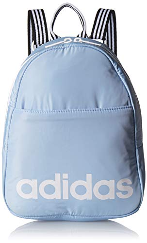 adidas Core Mini Backpack, Glow Blue/White/Black, One Size