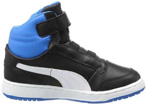 Noir Full Kids mode Bleu Baskets Puma Blanc Hi bébé garçon Court P4qwxxZH8