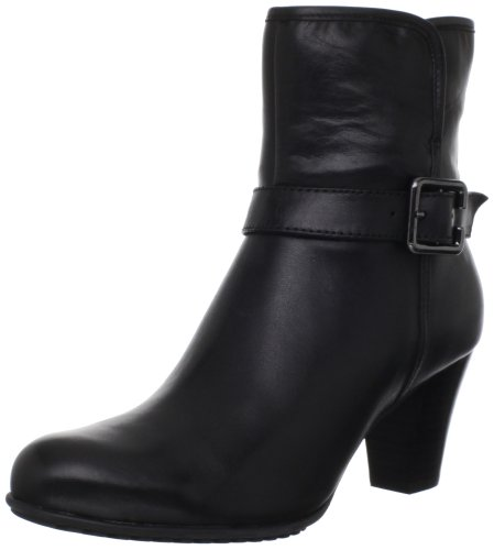 Clarks Womens Study Grade Ankle Boot Black
