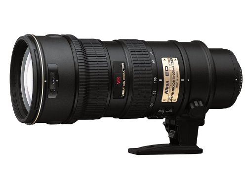 Nikon 70-200mm f/2.8G ED-IF AF-S VR Zoom Nikkor Lens for Nikon Digital SLR Cameras - White Box (New)