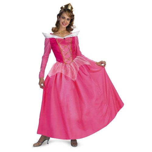Sleeping Beauty Disney Princess Aurora Prestige Adult Costume: Size 12-14 Misses Large