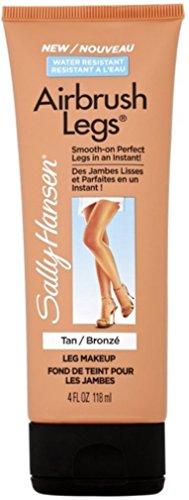 (Sally Hansen Airbrush Legs Leg Makeup, Tan 4 oz (Pack of 4))