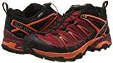 SALOMON Mens X Ultra 3 GTX Hiking Sneaker,Black/Red