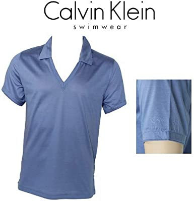 Calvin Klein CK Swimwear – Camiseta Cuello Polo (V Violet 58233z3 ...