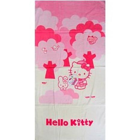Hello Kitty Toalla de ducha Forest Toalla Playa Toalla de baño infantil 140 x 70 cm: Amazon.es: Deportes y aire libre
