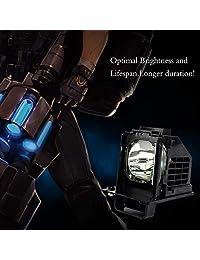 Ahlights 915B441001 915B441A01   Lámpara de repuesto para Mitsubishi WD 65738 WD 65638 WD 73C10 WD 73838 WD 60638 WD 65C10