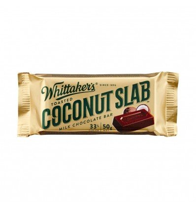 Whittakers Coconut Slab 50g X 50 Amazoncouk Grocery