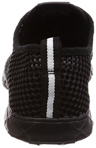 Aleader Hommes Séchage Rapide Aqua Chaussures Deau Noir / Noir