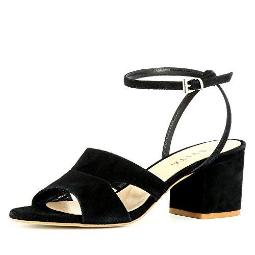 Shoes Donna Evita Nero Mariella Sandali zqUOw