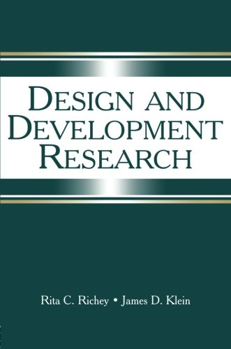 Design and Development Research: Methods, Strategies, and Issues (Development By Design compare prices)