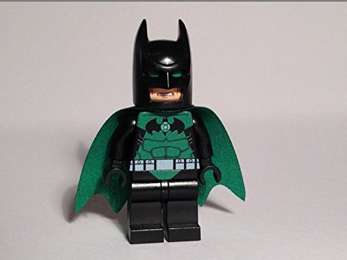 Custom Lego Green Lantern Batman Minifig Dc Comics Super Hero Justice League Darkest Knight (Lego Justice League Green Lantern)