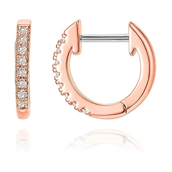 Gold Plated Cubic Zirconia Cuff Earring
