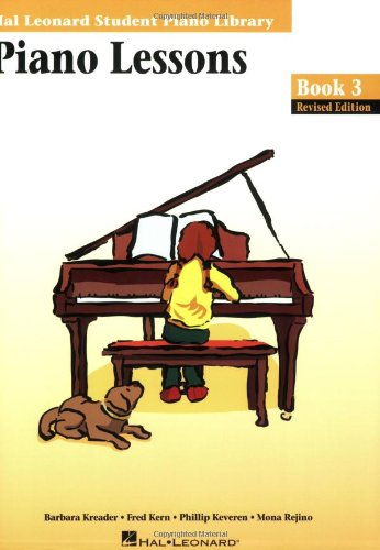 Piano Lessons Book 3  Edition: Hal Leonard Student Piano Library