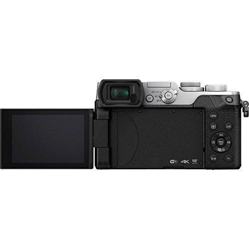 Panasonic Lumix DMC-GX8 4K Wi-Fi Digital Camera Body (Silver) with 64GB Card + Battery & Charger + Backpack + Strap + Flash + LED Light + Tripod + Kit