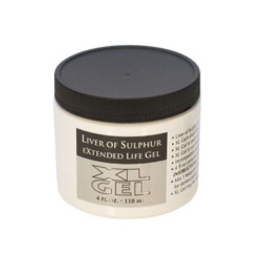 Liver Of Sulphur Gel, 4 Ounce Jar | SOL-610.04