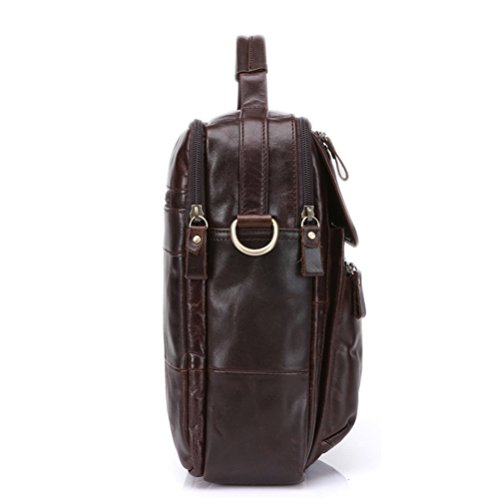 Strap Detachable Bag Day Valentines Satchel Gifts Travel Coffee Soft Graduation Teens Women Mens Cowhide Leather Zhuhaitf Messenger Sling Shoulder Crossbody Small Wwpv8xn7T