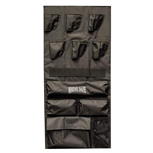 Rhino Safe Deluxe Door Organizer, Fits Bighorn & Kodiak Gun Safes (Medium)