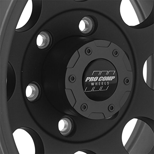 Pro Comp Alloys Series 69 Wheel with Flat Black Finish (15x10''/6x139.7mm) by Pro Comp Alloys (Image #1)