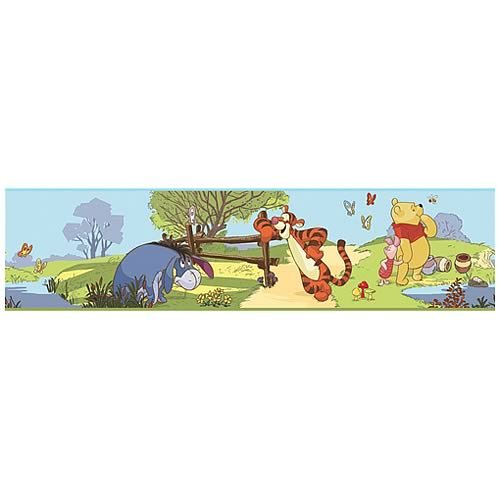 Roommates Rmk1497Bcs Pooh And Friends Peel & Stick Border (Pooh Border)