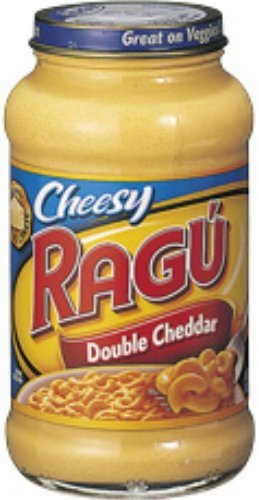 Unilever Bestfoods Ragu Cheese Creation Double Cheddar Sauce, 16 Ounce -- 12 per case.