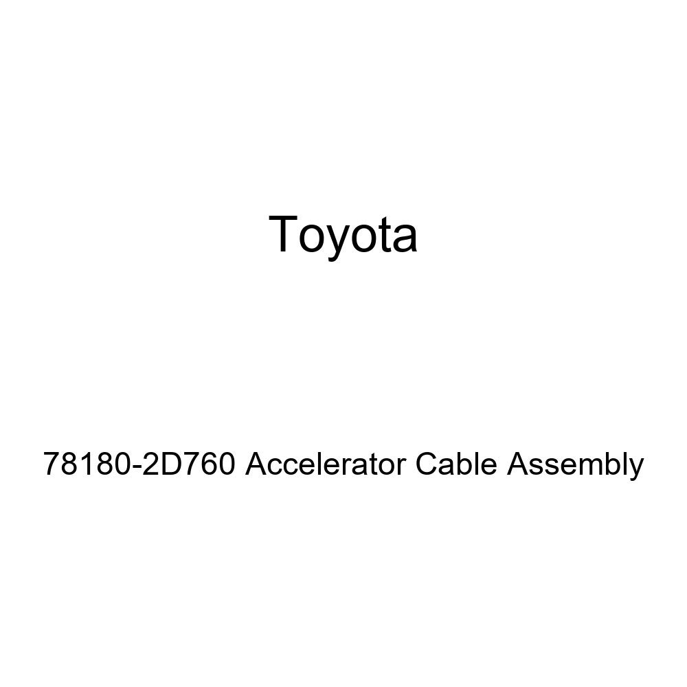 Toyota 78180-2D760 Accelerator Cable Assembly