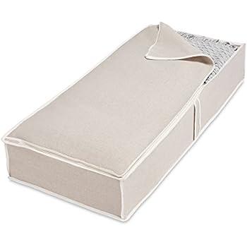 whitmor underbed storage bag linen