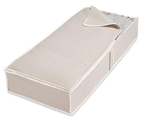 Whitmor Underbed Storage Bag, Linen