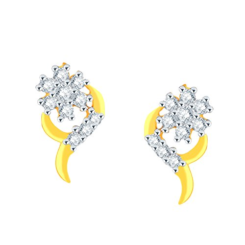 0.167 Ct Diamond Earrings - 1