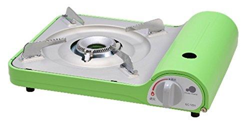 슬림 초박형 심플 컬러풀 휴대용 가스 난로 아스파라거스 그린 GC-VS1 / 감성캠핑