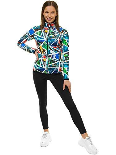 OZONEE 2-delige set leggings + sweatjack joggingpak sportleggings joggingpak trainingspak sportpak vrijetijdspak…