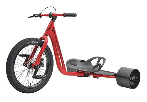 - Triad Notorious 3 Drift Trike Tricycle, Red/Red