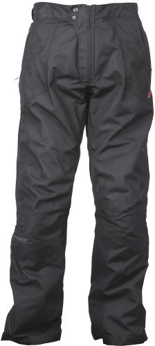 Joe Rocket Ballistic 7.0 Men's Textile Sports Bike Racing Motorcycle Pants - Black / Short - Medium
