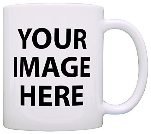Customized Photo Mug Add Your Picture or Custom Logo Add Any Image Gift Coffee Mug Tea Cup White -