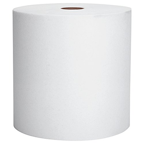 Scott Essential High Capacity Hard Roll Paper Towels (01005), White, 1000' / Roll, 6 Paper Towel Rolls / Convenience Case ()