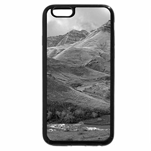 iPhone 6S Case, iPhone 6 Case (Black & White) - imnaha river oregon