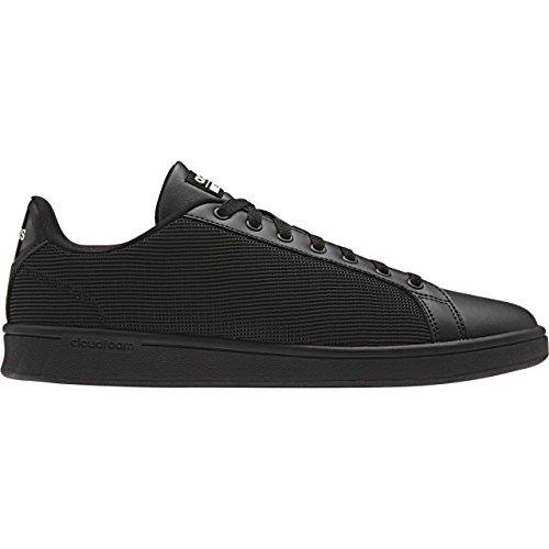 adidas CLOUDFOAM ADVANTAGE CLEAN - Zapatillas deportivas para Hombre, Negro - (NEGBAS/NEGBAS/BLATIZ) 39 1/3