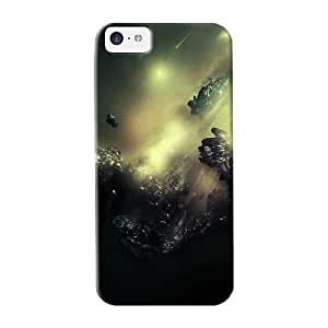 Honeyhoney Top Quality Case Cover For Iphone 5c Case With Nice Black Appearance