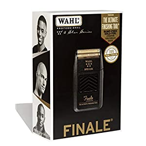 Wahl Professional 5-Star Series Finale Finishing Tool #8164 – Great for Professional Stylists and Barbers – Super Close – Black