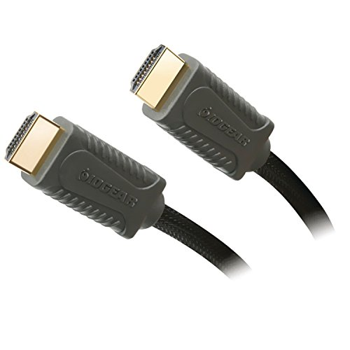 IOGEAR High Speed HDMI Cable with Ethernet supporting 3D and Audio Return, 16.4 Feet, GHDC1405P ()