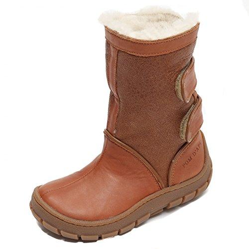 Pom dApi Piwi Chabraque Boot Camel / White