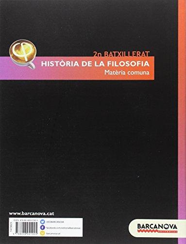 Història de la Filosofia 2n Batxillerat. Llibre de l ' alumne (Materials Educatius - Batxillerat - Matèries Comunes) - 9788448941925
