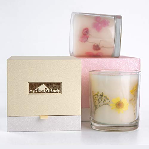 - MyHomeBody Luxury Handmade Natural Soy Scented Aromatherapy Candle with 100% Essential Oils - Zest (Citrus)