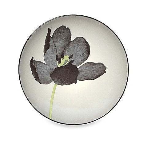 Colorwave Floral Accent Plate in Graphite