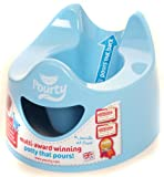 Pourty Easy-to-Pour Potty, Blue