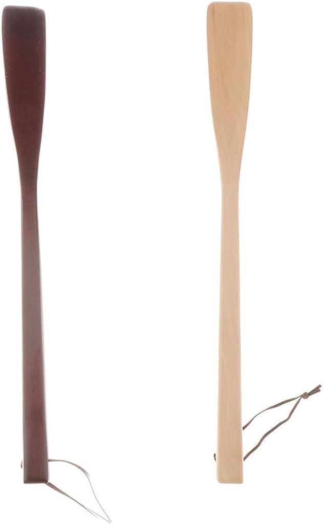 40 cm Baoblaze Long Shoehorn Shoe Horn with Hanging Ring