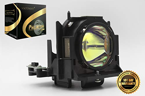 (Watoman ET-LAD60 Replacement Projector Lamp Assembly Original Bulb with Complete Housing for Panasonic PT-D6000 PT-D6000U PT-D6000ULS PT-D6000US PT-DW6300 PT-DW6300ULS Projectors)